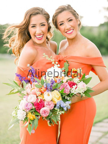 products/Orange_Jersey_Off_Shoulder_Sheath_Long_Bridesmaid_Dresses_AB4055-1.jpg