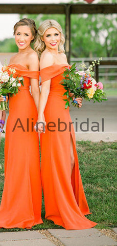 products/Orange_Jersey_Off_Shoulder_Sheath_Long_Bridesmaid_Dresses_AB4055-2.jpg