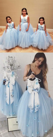 products/Pale_Blue_Tulle_Floral_Satin_Bowknot_Ball_Gown_Flower_Girl_Dresses_FGS138-2.jpg