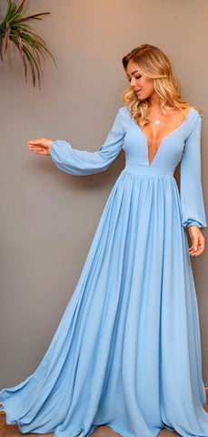 products/Pale_Bule_Satin_Chiffon_Long_Sleeve_A-line_Prom_Dresses_PD00348-3.jpg