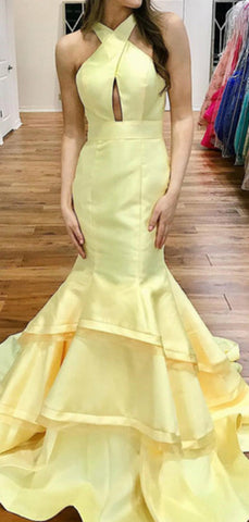 products/Pastel_Yellow_Satin_Criss-cross_Open_Back_Tiered_Mermaid_Prom_Dresses_PD00378-2.jpg