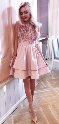 products/Pink_Lace_Applique_Satin_Tiered_Homecoming_Dresses_HD0071-3.jpg