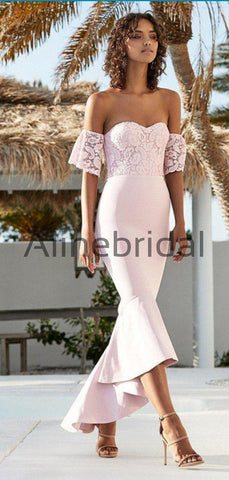 products/Pink_Lace_Off_Shoulder_Sweetheart_Mermaid_High_Low_Bridesmaid_Dresses_AB4097-2.jpg
