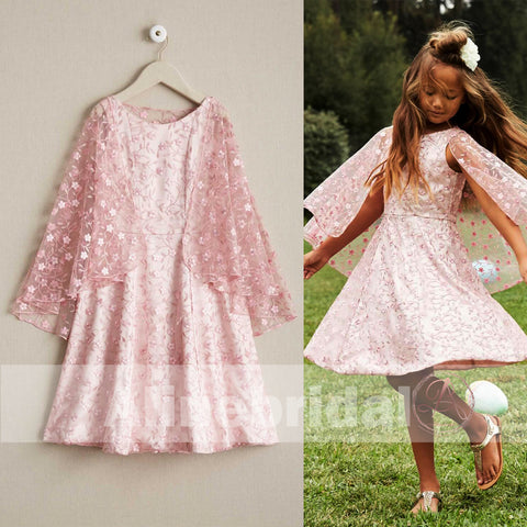 products/Pink_Lace_Round_Neck_With_Unique_Cape_Flower_Girl_Dresses_FGS084-1.jpg