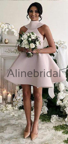 products/Pink_Satin_High_Neck_V-back_With_Bow_Knot_Short_Bridesmaid_Dresses_AB4079-2.jpg