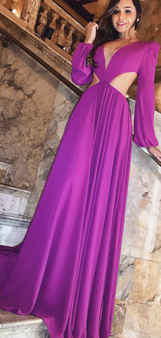 products/Purple_Long_Sleeve_V-neck_Open_Back_Prom_Dresses_PD00198-2.jpg