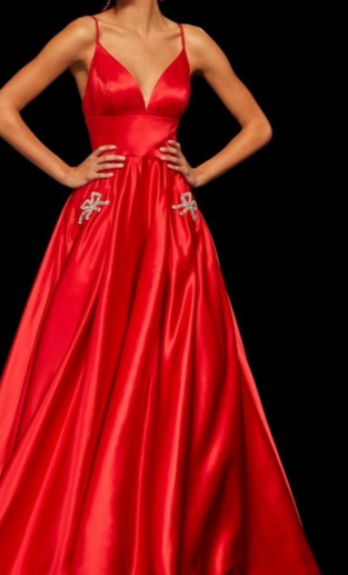 Custom  prom gown  for Jolee Hedman