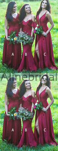 products/Red_Satin_Mismatched_Simple_Long_Bridesmaid_Dresses_AB4114-2.jpg
