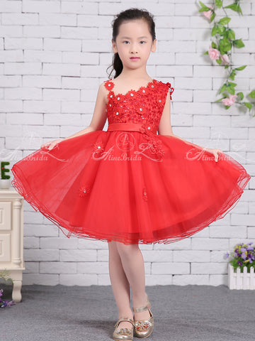 products/Red_Tulle_Unique_One_Shoulder_Applique_Flower_Girl_Dresses_FGS137-1.jpg