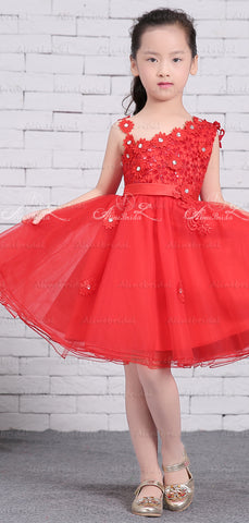 products/Red_Tulle_Unique_One_Shoulder_Applique_Flower_Girl_Dresses_FGS137-2.jpg
