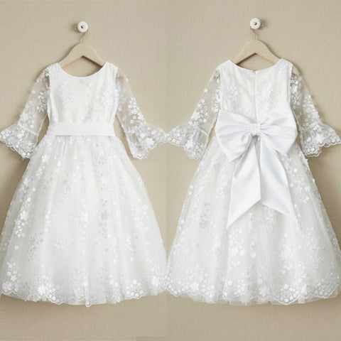products/Round_Neck_Off_White_Lace_Half_Sleeve_With_Sash_Long_Flower_Girl_Dresses_FGS098.jpg
