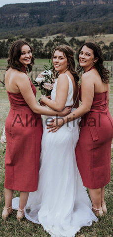 products/Rust_Red_Satin_Unique_Halter_Tea_Length_Bridesmaid_Dresses_AB4104-2.jpg