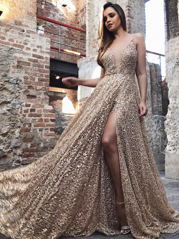 products/Shiny_Gold_Sequin_Lace_Spaghetti_Strap_A-line_Prom_Dresses_PD00173-1.jpg