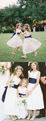 products/Simple_Ivory_Satin_Navy_Belt_Vintage_Flower_Girl_Dresses_FGS108-2.jpg