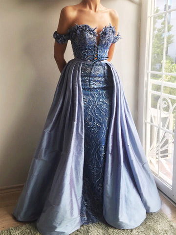 products/Sky_Blue_Lace_Applique_Off_Shoulder_Detachable_Over-skirt_Prom_Dresses_PD00162-1.jpg