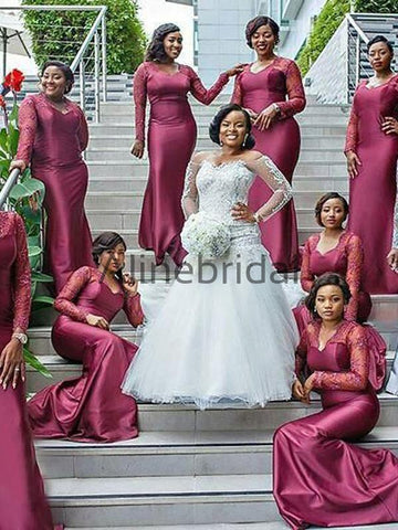 products/South_African_Long_Sleeve_Mermaid_Lace_Elastic_Satin_Long_Bridesmaid_Dresses_AB4080-1.jpg