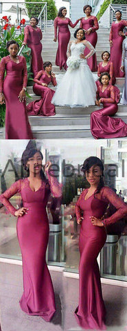 products/South_African_Long_Sleeve_Mermaid_Lace_Elastic_Satin_Long_Bridesmaid_Dresses_AB4080-2.jpg