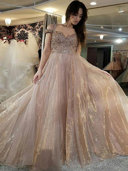 94019d513b FEATURED PRODUCTS. Your product s name.  200.00. Sparkly Beading Nude  Organza Off Shoulder Prom Dresses ...