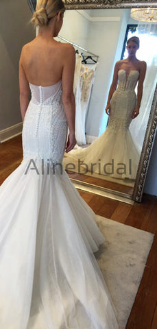 products/Sparkly_Beading_Tulle_Strapless_Mermaid_Vintage_Wedding_Dresses_AB1503-2.jpg
