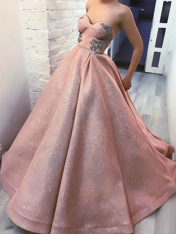 products/Sparkly_Dusty_Pink_Sweetheart_Strapless_Ball_Gown_Prom_Dresses_PD00146-3.jpg