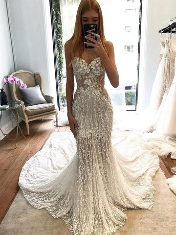 products/Stunning_Lace_Applique_Sweetheart_Strapless_Mermaid_Wedding_Dresses_AB1509-1.jpg