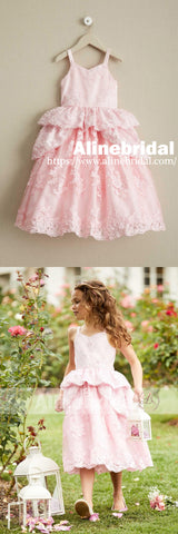 products/Sweet_Pink_Lace_Unique_Ball_Gown_Spaghetti_Straps_Flower_Girl_Dresses_FGS062-2.jpg