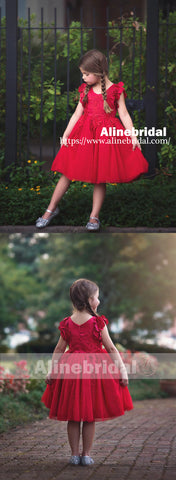 products/Sweet_Red_Appliques_Tulle_Pretty_Sleeveless_Short_Flower_Girl_Dresses_FGS073-2.jpg