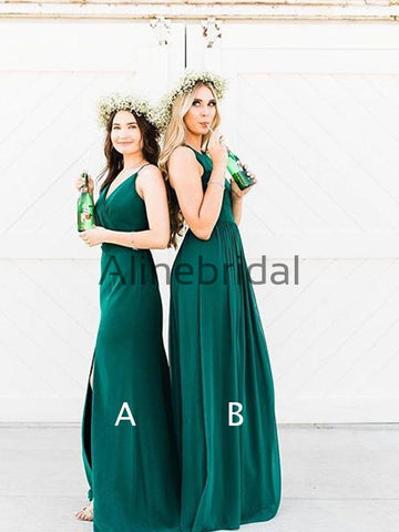 products/Teal_Chiffon_Mismatched_A-line_Long_Bridesmaid_Dresses_AB4044-1.jpg