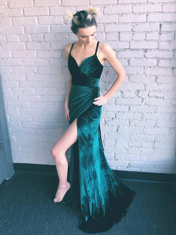 products/Teal_Green_Velvet_Lace_Up_Back_Side_Slit_Prom_Dresses_PD00307-1.jpg