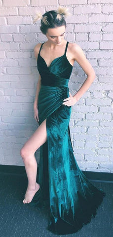 products/Teal_Green_Velvet_Lace_Up_Back_Side_Slit_Prom_Dresses_PD00307-2.jpg