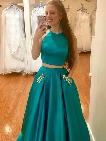 products/Two_Piece_Green_Satin_Open_Back_Beading_Pocket_Prom_Dresses_PD00358-1.jpg