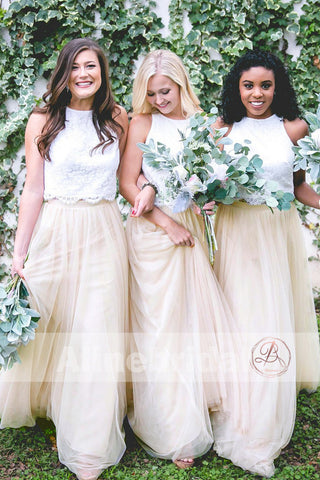 products/Two_Piece_Ivory_Lace_Top_Tulle_Bottom_Country_Wedding_Bridesmaid_Dresses_AB1212-a.jpg