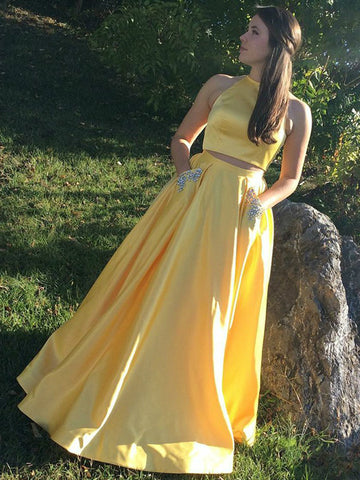 products/Two_Piece_Yellow_Satin_Open_Back_Beading_Pocket_Prom_Dresses_PD00359-1.jpg
