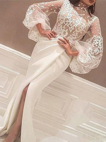 products/Unique_Illusion_Lace_Lantern_Sleeve_Mermaid_Wedding_Dresses_AB1511-1.jpg
