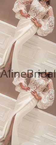 products/Unique_Illusion_Lace_Lantern_Sleeve_Mermaid_Wedding_Dresses_AB1511-2.jpg