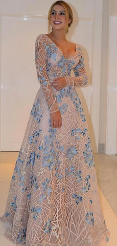 products/Unique_Lace_Long_Sleeves_V-neck_A-line_Fashion_Prom_Dresses_PD00350-2.jpg