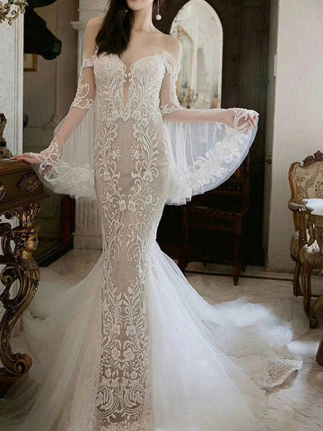 products/Unique_Long_Sleeve_Off_Shoulder_Lace_Mermaid_Wedding_Dresses_AB1508-1.jpg