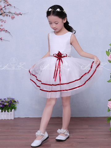 bfa18e68e products/White_Organza_Red_Satin_Belt_Cheap_Simple_Flower_Girl_Dresses_FGS123-1.jpg