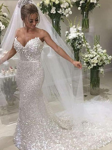 products/White_Sequin_Applique_Strapless_Mermaid_Train_Wedding_Dresses_AB1523-B.jpg