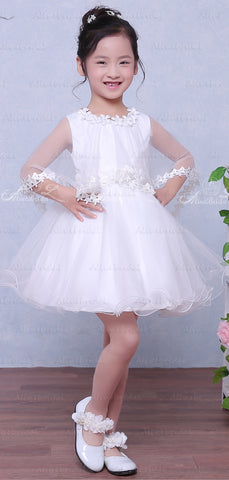 products/White_Tulle_Simple_Flower_Girl_Dresses_With_Cape_FGS030-2.jpg