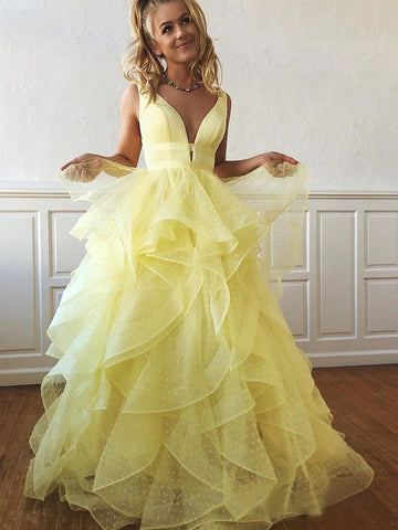 products/Yellow_Organza_Ruffles_Ball_Gown_For_Teens_Prom_Dresses_PD00251-1.jpg