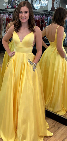 products/Yellow_Satin_V-neck_Scoop_Back_Beading_Pocket_Prom_Dresses_PD00357-2.jpg