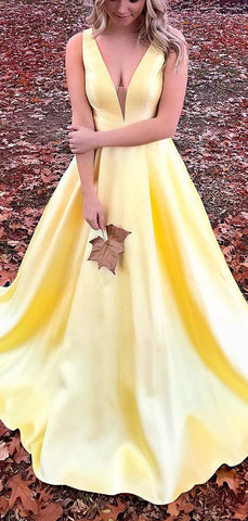 products/Yellow_Satin_V-neck_Sleeveless_Pockets_A-line_Prom_Dresses_PD00355-2.jpg
