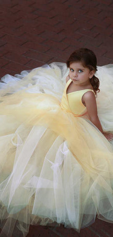 products/Yellow_Satin_V-neck_Tulle_Ball_Gown_Simple_Flower_Girl_Dresses_FGS117-3.jpg