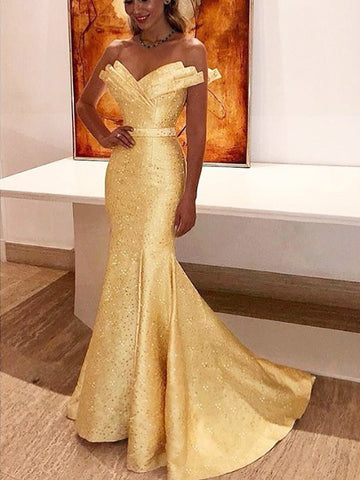 products/Yellow_Satin_With_Beads_Unique_Strapless_Mermaid_Prom_Dresses_PD00226-1.jpg