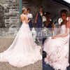 Pink Sweetheart Strapless Stunning Gorgeous Bubble Bottom  Wedding Dresses, AB1137