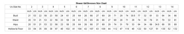 Unique Bubble Dark Ivory Square Neckline Fashion Flower Girl Dresses , FGS109