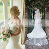 Popular Classic Lace Off Shoulder Sweetheart Neckline Mermaid Wedding Dresses, AB1126