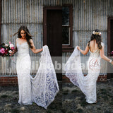 Stunning Gorgeous Sparkly Handmade Beaded Cap Sleeve Mermaid  Wedding Dresses, AB1127