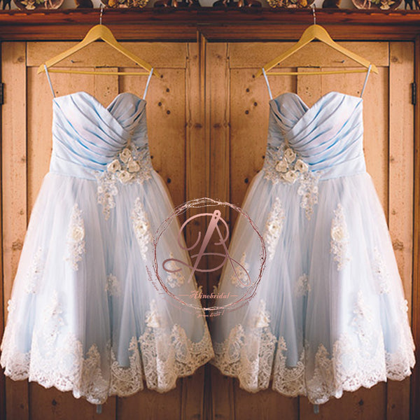80bb200239f FEATURED PRODUCTS. Your product s name.  200.00. Pale Blue White Lace  Sweetheart Lovely Handmade Flowers A-line Flower Girl Dresses ...